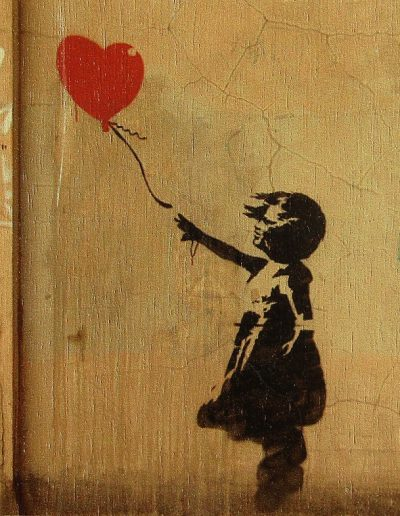 Girl with Balloon, by Banksy