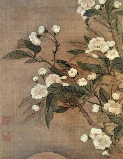 Pear Blossom and Moon, by Yun Shouping