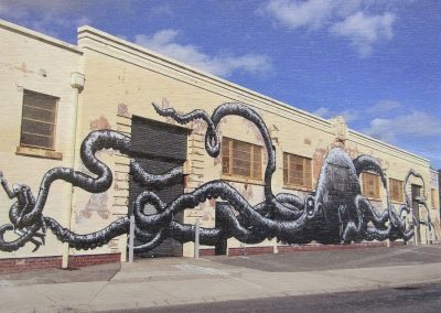 Fremantle Octopus, by Phlegm, Australia