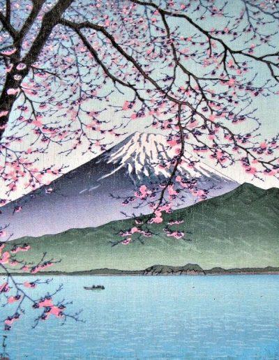 Kisho, Nishi-Izu, by Kawase Hasui (1938)