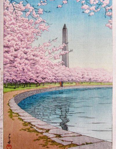 Washington Monument, Hasui